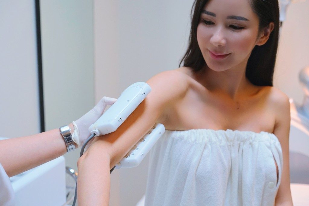 Jamie Chua Radio Frequency treatment 1