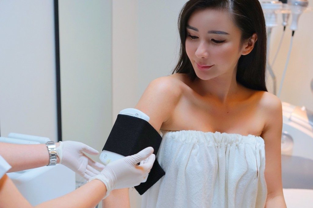 Jamie Chua Radio Frequency treatment 2