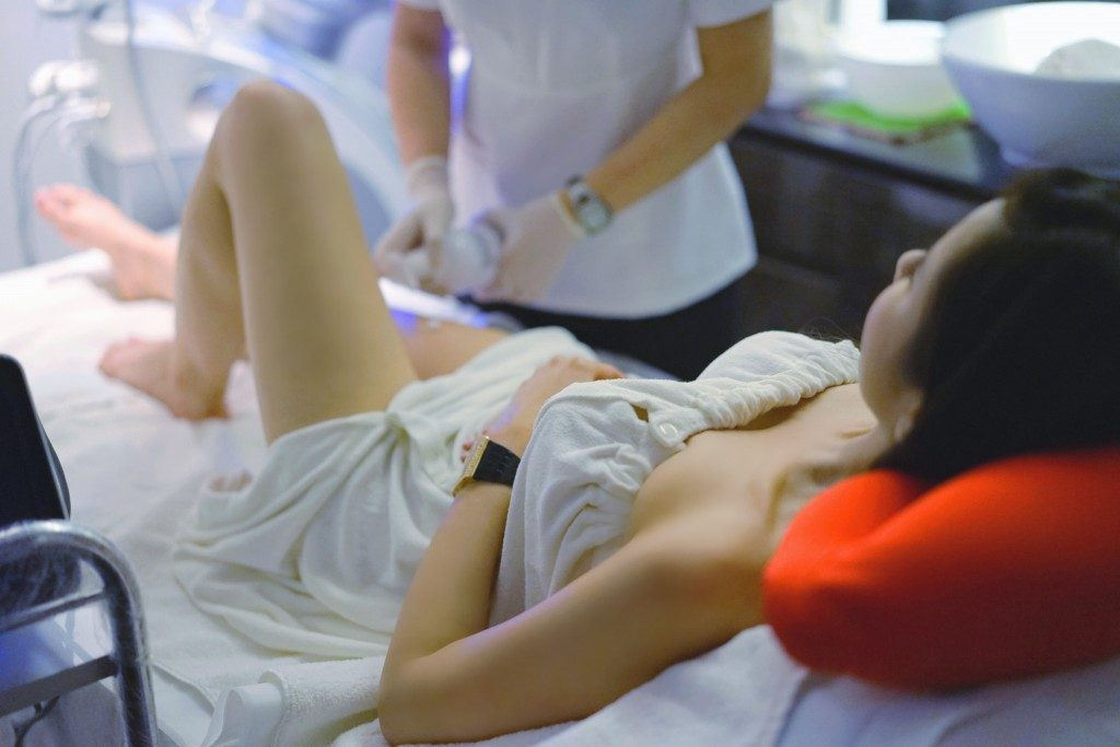 Jamie Chua Radio Frequency treatment 6